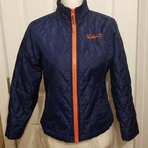 Weatherproof Blue and Orange Jacket